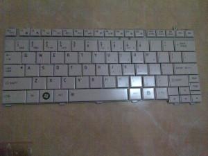 Jual Keyboard Laptop Toshiba T130 White Yogyakarta
