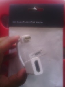 Jual Konektor Mini Port Dislpay To HDMI Yogyakarta