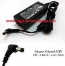 Jual Adaptor Charger ACER One 14 Z1401 Z1402 – 19V 2.1A Original
